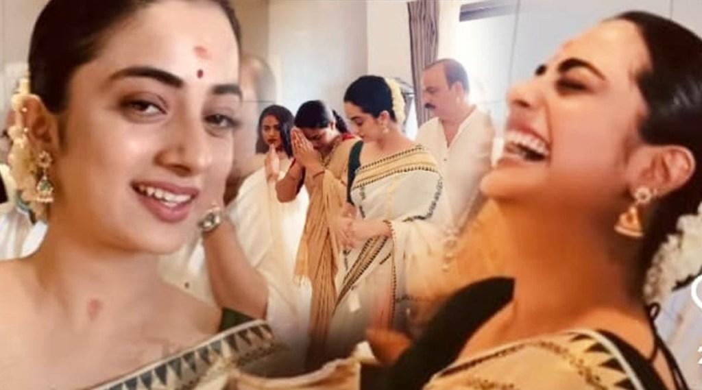 Namitha Pramod, Namitha Pramod family, നമിത പ്രമോദ്, Namitha Pramod family photos, Namitha Pramod new home, Namitha Pramod photos, Indian express malayalam, IE malayalam