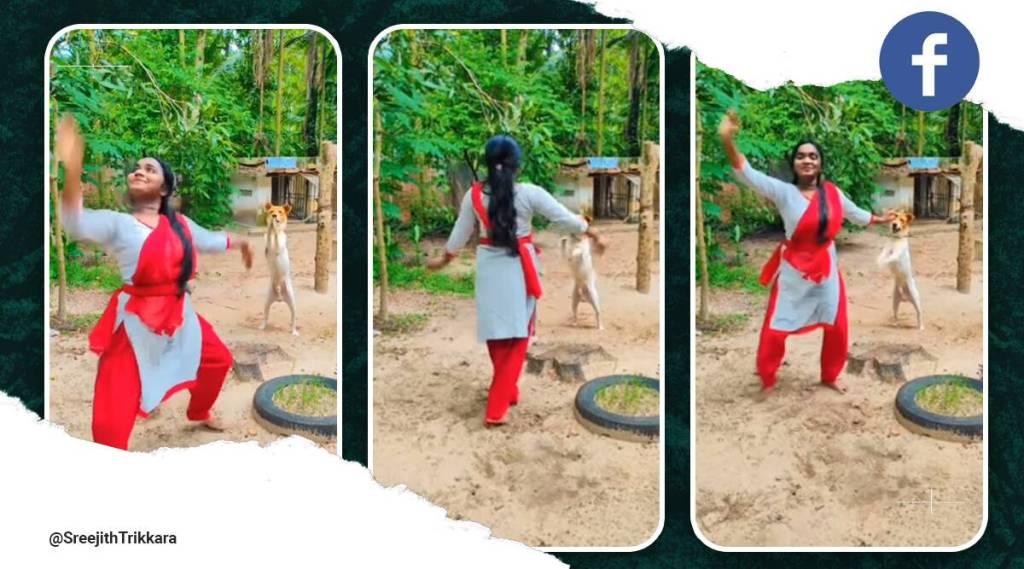 Dog dancing with owner, Kerala news, Cherthala, Viral video, Dog videos, Dog dancing videos, Trending news, ie malayalam