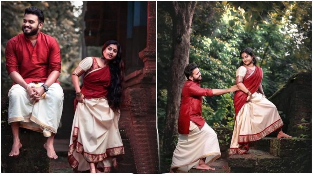 anaswara ponnambath, anaswara ponnambath photos, anaswara ponnambath wedding, anaswara ponnambath save the date photos, അനശ്വര പൊന്നമ്പത്ത്