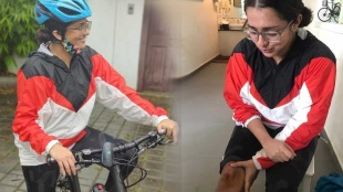 World Bicycle Day 2021, World Bicycle Day, Parvathy, Rima Kallingal, Vidhu Prathap