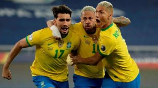 Brazil vs Chile. Brazil vs Chile score, Brazil vs Chile goal, Copa America 2021, ie malayalam