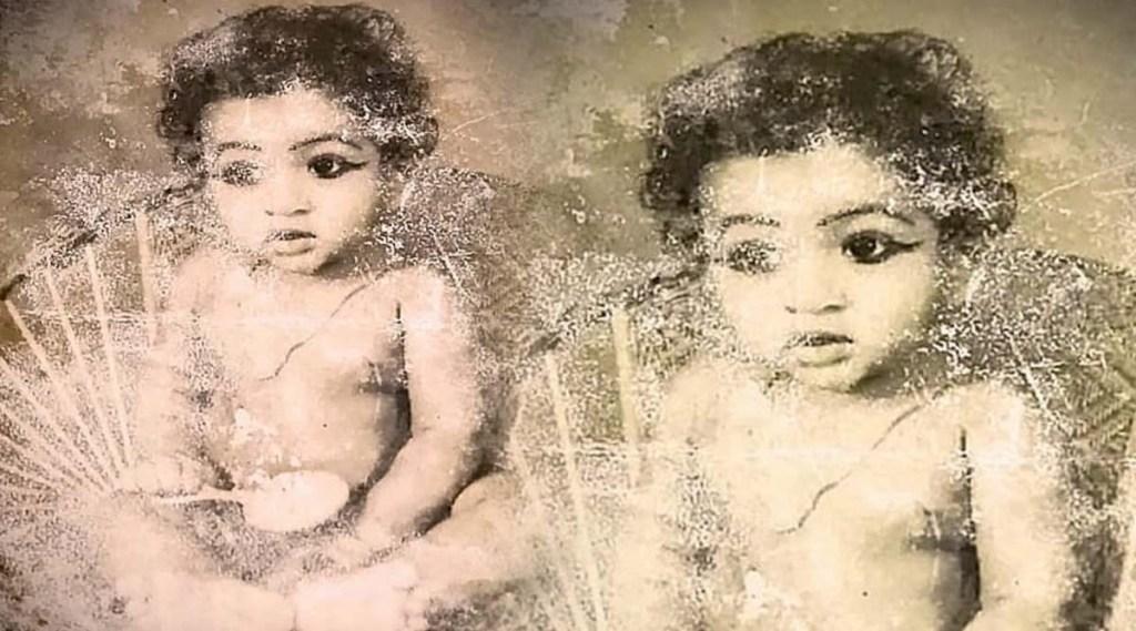 Baburaj, Baburaj childhood photos, Baburaj photos, Vani Viswanath, Vani viswanath Baburaj photos, വാണി വിശ്വനാഥ്, ബാബുരാജ്