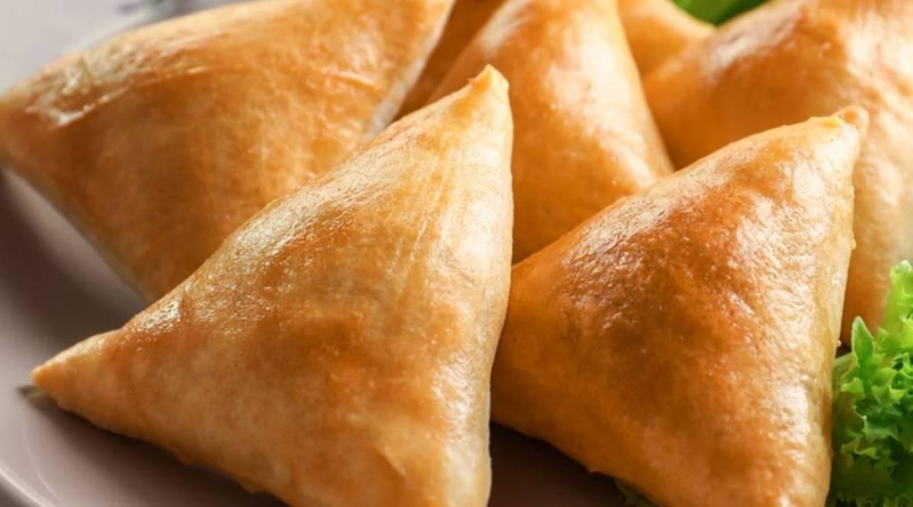 Chicken Samosa, food, ie malayalam
