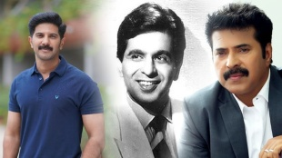 Mammotty, Dulquer Salman, Mammootty with Dilip Kumar, Dilip Kumar, Dilip Kumar Death, Dilip Kumar Photos, Dilip Kumar Death News, Dilip Kumar Wikipedia, Dilip Kumar Films, Dilip Kumar Videos, Dilip Kumar Life, IE Malayalam