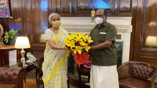gst, gst compensation kerala, nirmala sithraman, kn balagopal, gst compensation due, kn balagopal meets nirmala sitharaman, kerala demand gst compensation due, covid19 financial support for states, ie malayalam