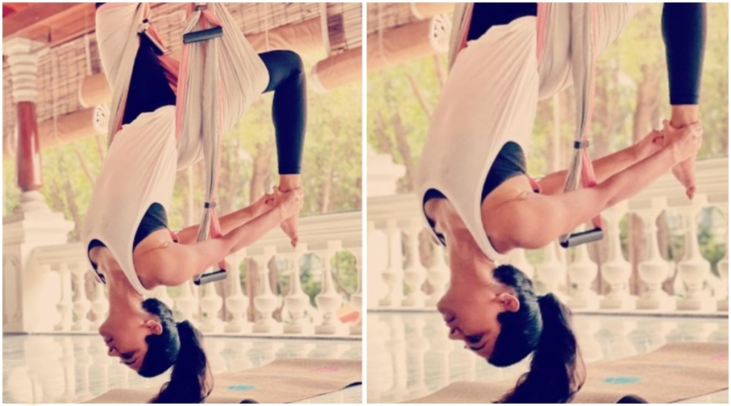 Allu Arjun, Sneha Reddy yoga, Allu Arjun wedding anniversary, Allu Arjun wife, Allu Arjun family, sneha reddy, Allu Arjun love story, Allu Arjun sneha reddy photos, അല്ലു അർജുൻ