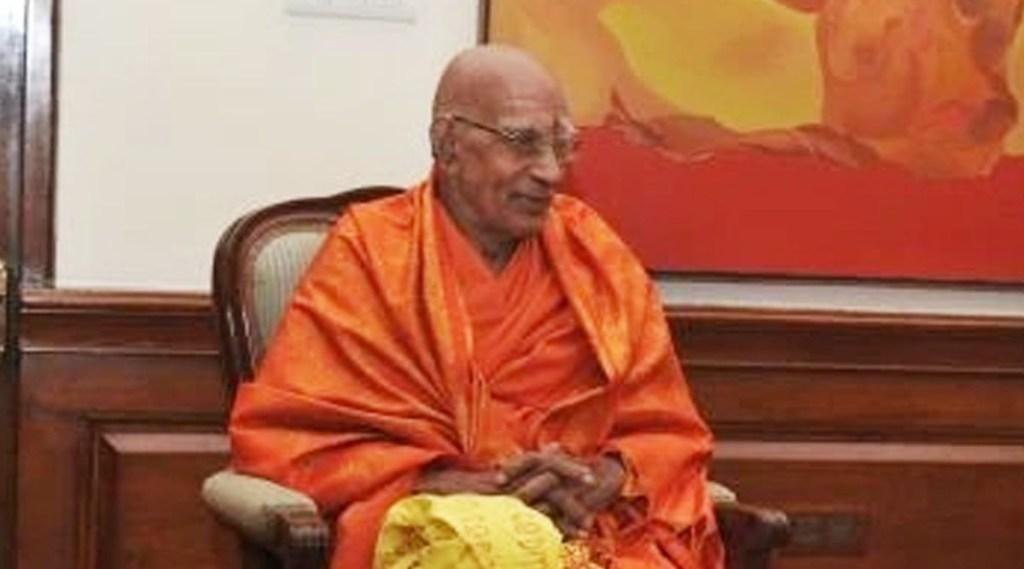 swami prakashananda, swami prakashananda passes away, shivagiri mutt, varkkala, ie malayalam