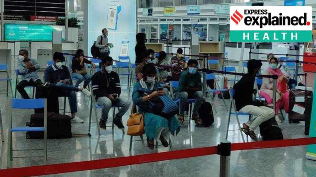 Travel restrictions, Indian flights, Indian flights travel restrictions, International travel restrictions, Covid restrictions in countries, countries allowed for travel, Explained health, Covid-19, Covid pandemic, Second wave, Indian Express, Gulf, Europe, UAE, US, Flights From India, ഗൾഫ്, വിമാനം, യുഎസ്, യൂറോപ്പ്, കോവിഡ്, നിയന്ത്രണം, യാത്ര, malayalam news, news in malayalam, latest news, uae flights, uae flight news, gulf flight news, ie malayalam
