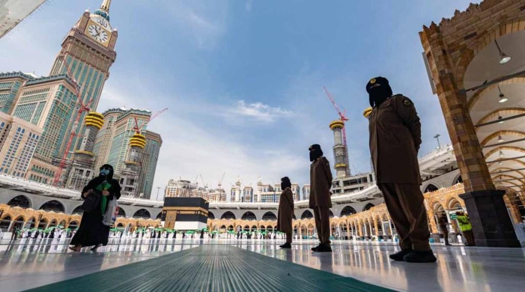 Haj, Haj pilgrimage, Mecca, Saudi women soldiers, Saudi Army, Crown prince Mohammed bin Salman, Mohammed bin Salman, Reforms in Saudi Arabia, Indian Express,