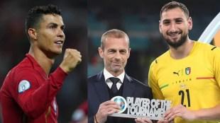 UEFA EURO, Cristiano Ronaldo, Donnarumma
