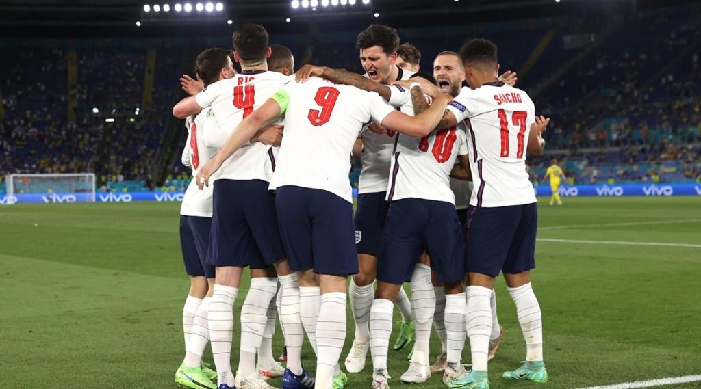 UEFA EURO, England vs Denmark
