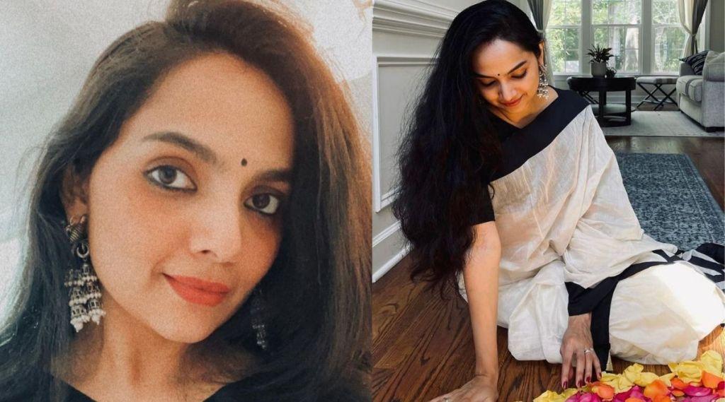 Samvritha Sunil, സംവൃത സുനിൽ, Samvritha and Family, സംവൃതയും കുടുംബവും, Samvritha onam, Samvritha Family Photo, Samvritha sunil films, IE Malayalam, ഐഇ മലയാളം