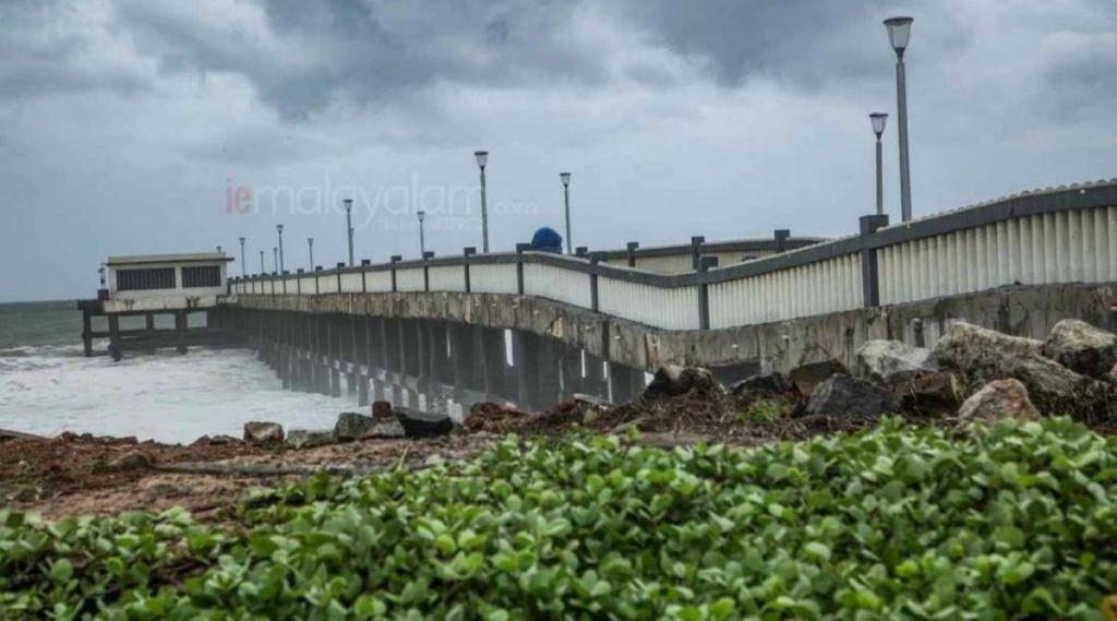 valiyathura bridge, bridge construction, valiathura sea bridge, valiathura sea bridge renovation, ie malyalam