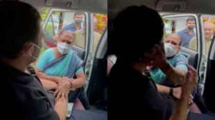Rahul Gandhi, Rahul Gandhi in Wayanad, Rahul Gandhi's visit Wayanad, Wayanad nurse meets Rahul Gandhi, Wayanad nurse meets Rahul Gandhi viral video Indian express malayalam, ie malayalam