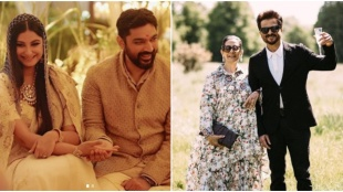 Rhea Kapoor wedding reception, anil kapoor daughter wedding reception, sonam kapoor, Anil Kapoor, Arjun Kapoor, janhvi kapoor, khushi kapoor, shanaya kapoor, farah khan, mohit marwah, karan boolani, rhea kapoor karan boolani wedding reception