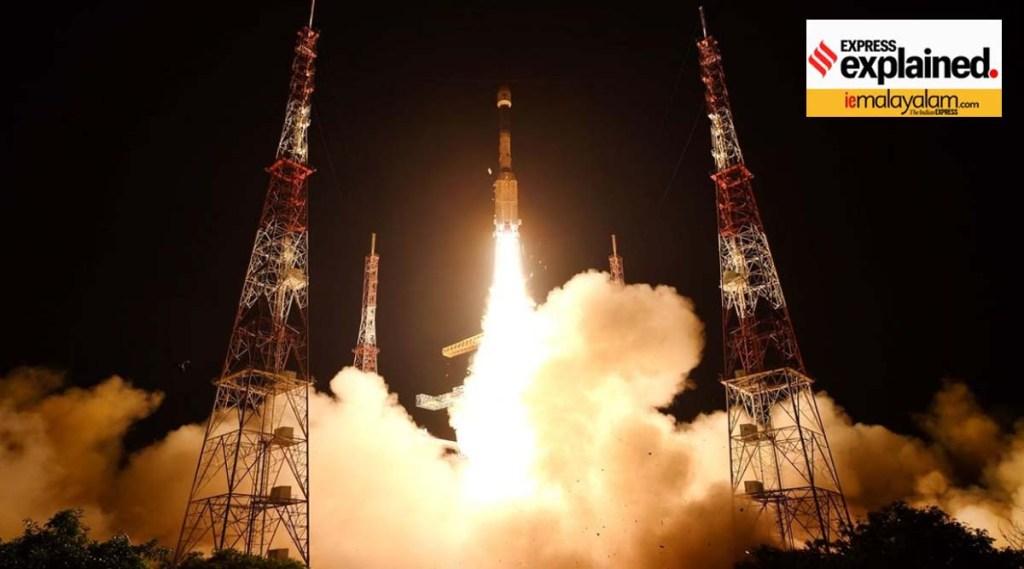 isro, isro eos 3, isro eos 3 launch, eos 3 earth observation satellite, isro eos 3 satellite, isro eos 3 satellite launch, isro eos 3 failed, isro eos 3 launch failed, isro eos 3 launch date, isro eos 3 mission, isro eos 3 mission news, gslv f10, gslv mark-2, indian express malayalam, ie malayalam