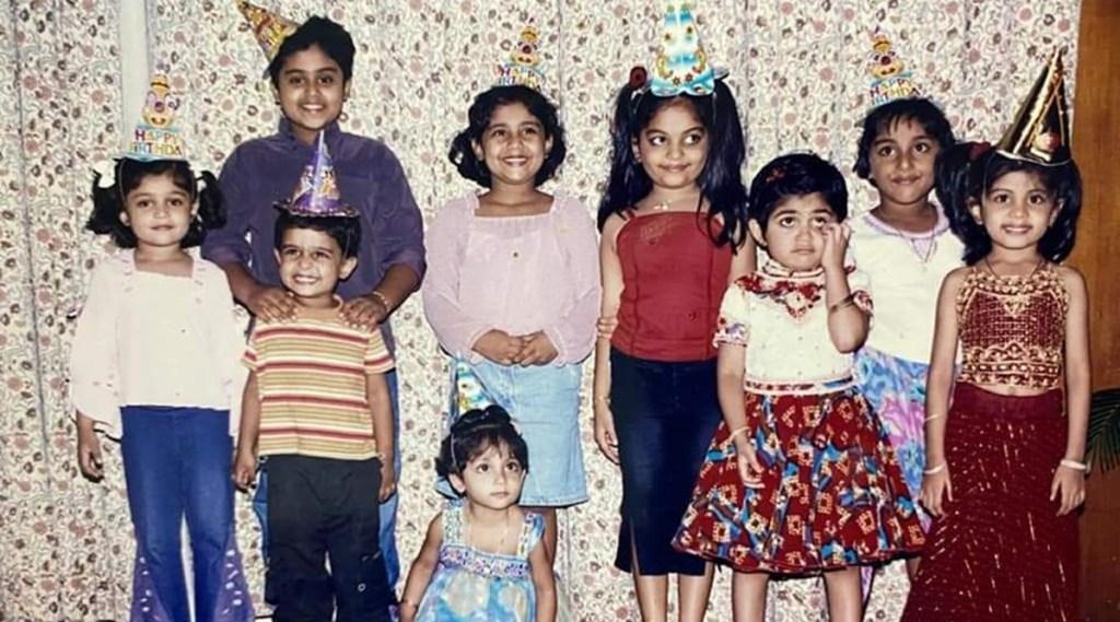Ahaana Krishna, Ahaana Krishna childhood photos, Gokul Suresh, Gokul Suresh childhood photos, Suresh Gopi Krishna Kumar friendship, അഹാന കൃഷ്ണ, ഗോകുൽ സുരേഷ്, സുരേഷ് ഗോപി, കൃഷ്ണകുമാർ, Suresh Gopi, Krishna Kumar
