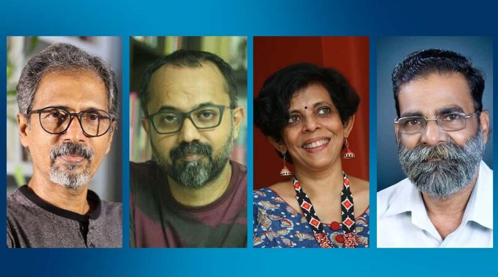 Kerala Sahitya Akademi, kerala Sahitya Akademi awards 2020, pf mathews, unni r, op suresh, priya as, perumbadavam sreedharan, sethu, kk koch, indian express malayalam, ie malayalam