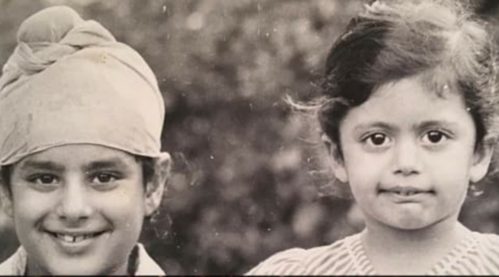 Mandira Bedi, Mandira Bedi childhood photo, മന്ദിര ബേദി, Mandira Bedi photos, Mandira Bedi old photos, Mandira Bedi age, Mandira Bedi DDLJ, മന്ദിര ബേദി