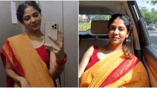Poornima Indrajith, പൂർണിമ ഇന്ദ്രജിത്ത്, Poornima indrajith photos, Poornima indrajith saree photos, Poornima Indrajith saree photos