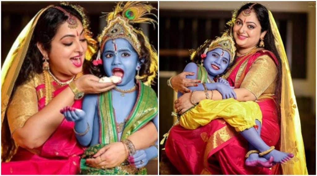Reshmi Soman krishna janmashtami photos, ജന്മാഷ്ടി, janmashtami 2021, janmashtami date in 2021, janmashtami date 2021, കൃഷ്ണ ജന്മാഷ്ടമി