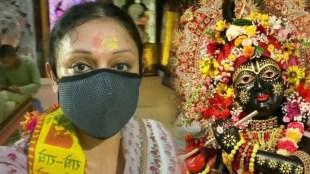 Shobhana, Shobhana photos, Shobana latest photos, ശോഭന, ശ്രീകൃഷ്ണജയന്തി, ബങ്കെ ബിഹാരി ക്ഷേത്രം, Bankey Bihari Temple Vrindavan, shobana visits Bankey Bihari Temple Vrindavan