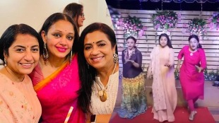 Suhasini Maniratnam, Suhasini Maniratnam birthday celebration photos, suhasini with 80s gang, Suhasini, Suhasini age