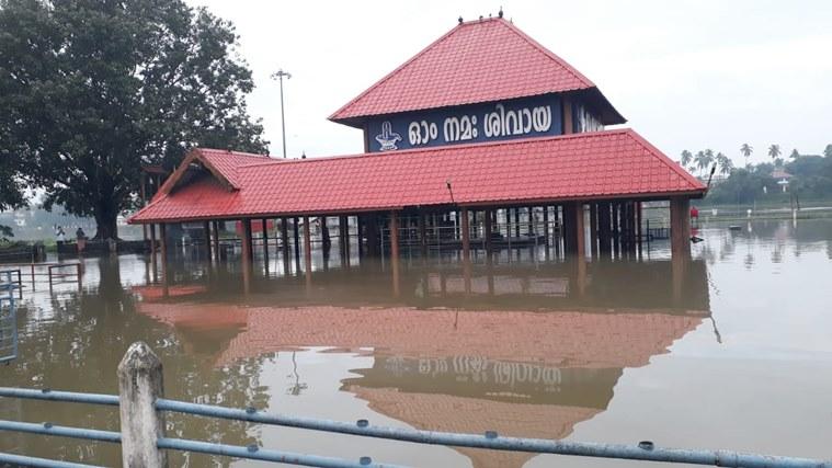 aluva temple, rain, ie malayalam