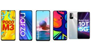 Redmi Note 10, Realme Narzo 30, Redmi Note 10T 5G, Samsung Galaxy F41, Poco M3, Best battery phones, best phones below Rs 15000, ie malayalam