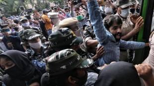 Delhi court, Hindu Raksha Dal, Pinky Chaudhary, anti muslim rally, jantar mantar, delhi news, delhi, indian express, indian express news