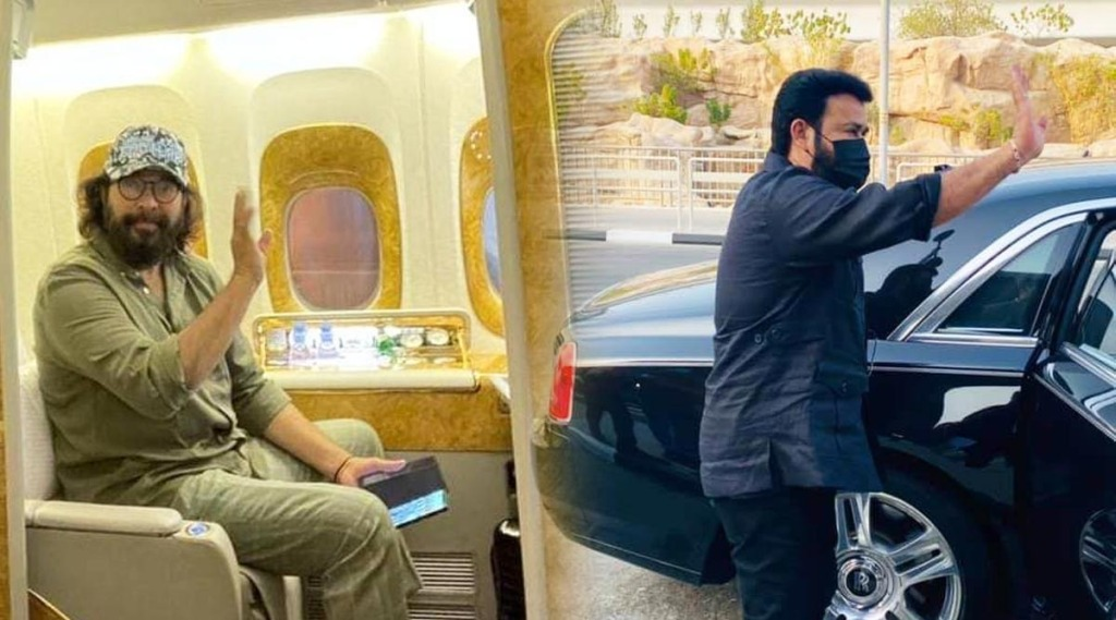 Mohanlal, Mammootty, UAE Golden Visa, Mohanlal Dubai, Mammooty new photo, Mohanlal new photo, ie malayalam