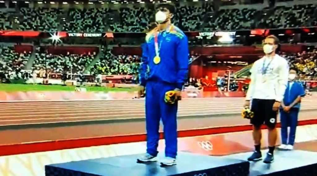 Neeraj Chopra, Neeraj Chopra olympics, Neeraj Chopra olympic gold medal, Neeraj Chopra gold medal, Neeraj Chopra javelin, india olympic gold medal, india medal, sports news, നീരജ് ചോപ്ര, സ്വർണ മെഡൽ, ഇന്ത്യ, ഒളിംപിക്സ്, IE Malayalam
