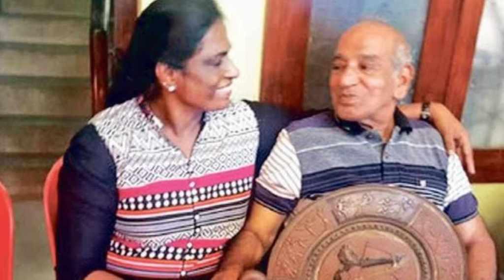 "PT USha, OM Nambiar, PT Usha on coach Nambiar, Coach OM Nambiar"" />"