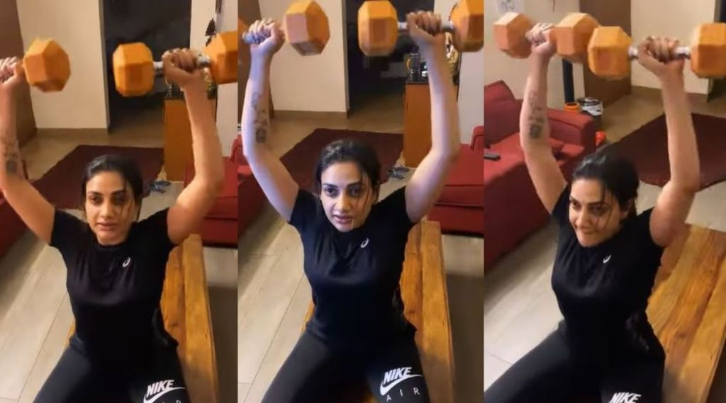 Rimi Tomy, Rimi Tomy workout video, Rimi Tomy pics, Rimi Tomy workout pics, Rimi Tomy workout video, rimi tomy photos, videos, rimi tomy news, rimi tomy age, rimi tomy birthday, റിമി ടോമി, Indian express malayalam, IE malayalam
