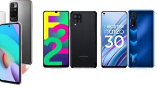 Redmi 10 Prime, Redmi 10 prime vs Realme Narzo 30, Redmi 10 Prime vs Samsung Galaxy F22, Redmi 10 Prime specs, Redmi 10 Prime features, Redmi 10 Prime price, Realme Narzo 30 vs Samsung Galaxy F22, ie malayalam