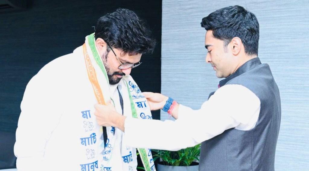 Babul Supriyo, Trinamool Congress, Babul Supriyo joins TMC, former union minister Babul Supriyo joins TMC, Ex-BJP MP Babul Supriyo joins TMC, west bengal, mamata banerjee, BJP, indian express malayalam, ie malayalam