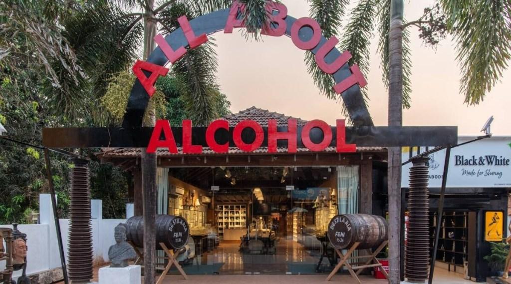 goa, goa alcohol museum, All About Alcohol museum goa, cokctails, feni, feni cocktails, Goa, Candolim alcohol museum, Goa news, Goa tourism, what to do in Goa, All about alcohol museum, Goa beach, Goa feni, feni history, Nandan Kudchadkar, indian express mlayalam, ie malayalam