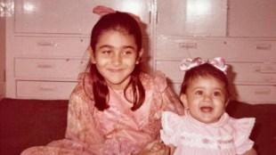 kareena kapoor, kareena kapoor birthday, Karisma Kapoor, kareena kapoor childhood photo, Karisma childhood photo, Karisma kapoor family, കരീന കപൂർ