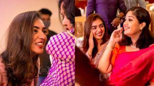 Nazriya., Meghna Raj