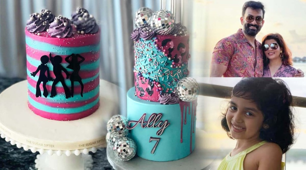 Prithviraj, Supriya Menon, Prithviraj daughter, Prithviraj daughter ally, Prithviraj daughter ally birthday cake, Prithviraj pet dog zorro, Alamkritha, Prithviraj daughter, Ally, പൃഥ്വിരാജ്, സുപ്രിയ മേനോൻ, അല്ലി