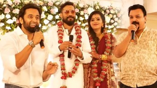 Unni mukundan, bala, ബാല actor bala, Bala Elizabeth reception bala wedding, ബാല വിവാഹം, bala wife, bala sreesanth video
