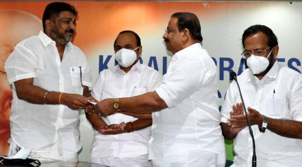 K Sudhakaran, Congress, Rishi Palpu, OBC Morcha, കോൺഗ്രസ്, കെ സുധാകരൻ, ഒബിസി മോർച്ച, ഋഷി പൽപ്പു, malayalam news, kerala news, ie malayalam