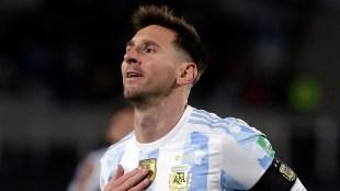 Lionel Messi, Pele