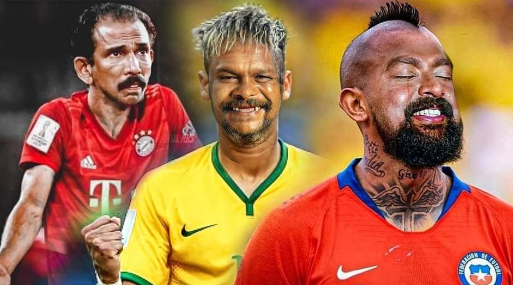 Malayalam Actors, football players, viral photos