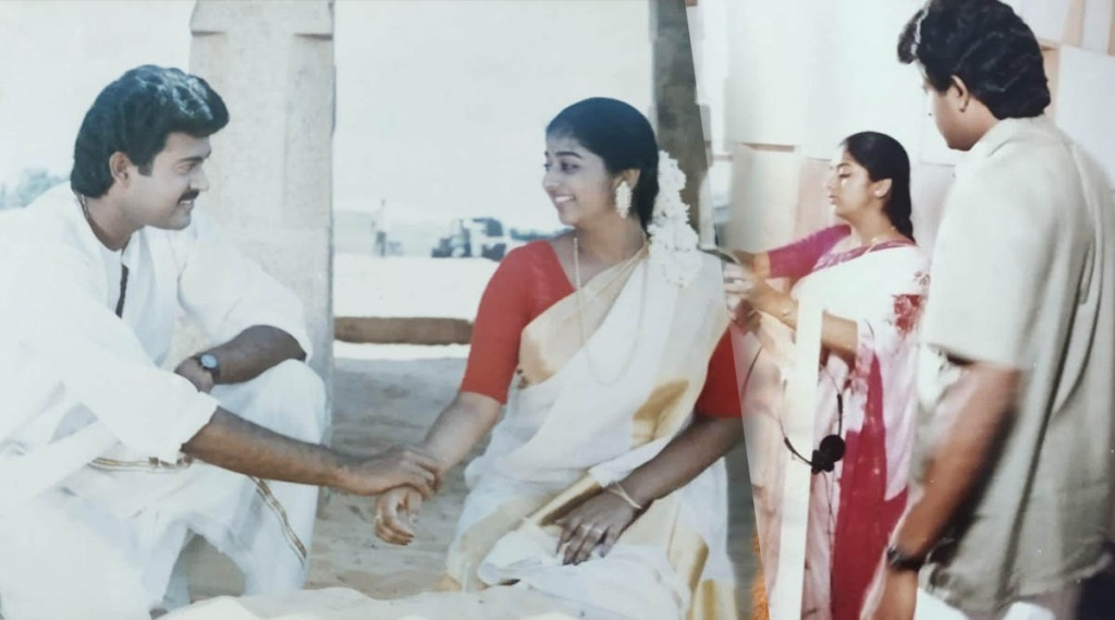 Monisha, Manoj K Jayan, Monisha photos, മോനിഷ, മനോജ് കെ ജയൻ