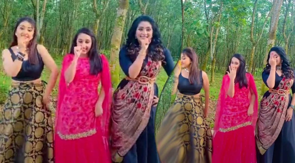 nithya das, Navya Nair, നവ്യ നായർ, Nithya Das Navya Nair, nithya das daughter, nithya das video, Onam, Param Sundari, nithya das family, നിത്യ ദാസ്, nithya das viral dance