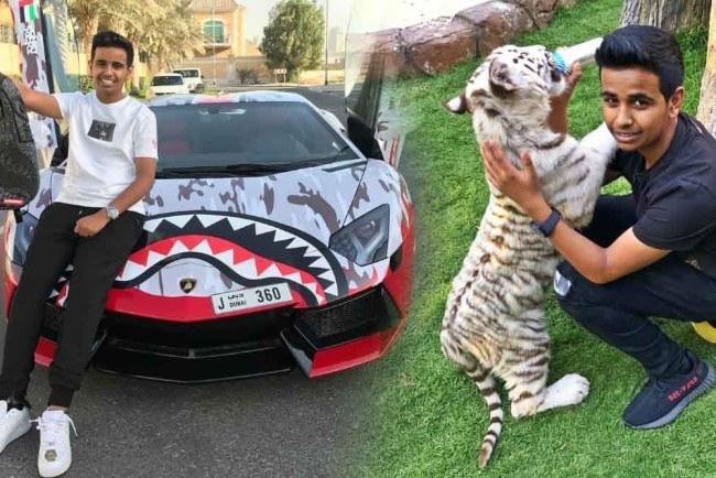 Money Kicks, Rashed Saif Belhasa luxury lifestyle