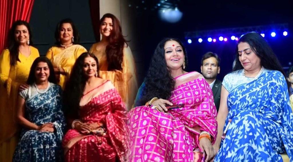 shobana, Suhasini Maniratnam, Radhika Sarathkumar, Kushboo, Khushbu, Poornima Bhagyara, simaa awards 2019, Simaa photos and videos