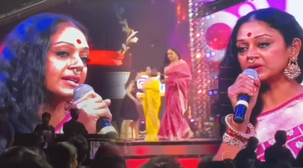 shobana, siima awards, shobana award, Suhasini Maniratnam, Radhika Sarathkumar, Kushboo, Khushbu, Poornima Bhagyara, simaa awards 2019, Simaa photos and videos, ie malayalam