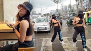 Indore, Rasoma Square dance video, Shreya Kalra dancing on road, shreya Kalra viral video